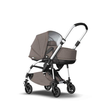 AU - Bee5 pram with bassinet Mineral Taupe, Aluminium Chasis