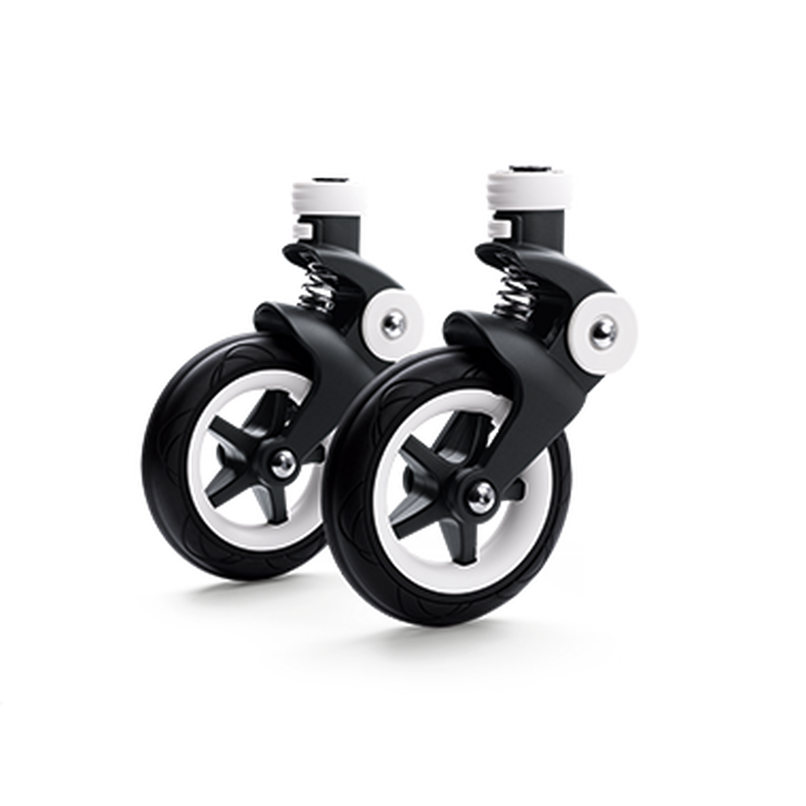 Bugaboo Bee 5 swivel wheels replacement set Black