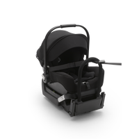 Bugaboo Turtle by Nuna car seat + base AU BLACK