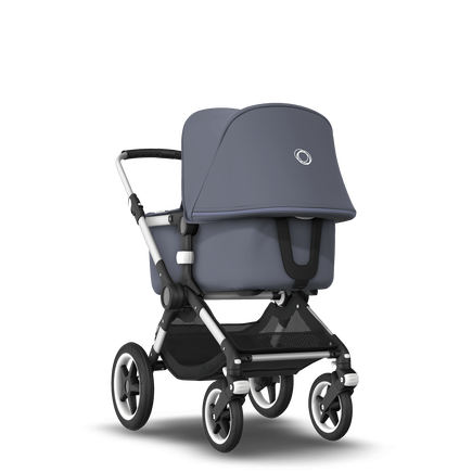 EU - Bugaboo Fox stroller bundle  aluminium Steel Blue