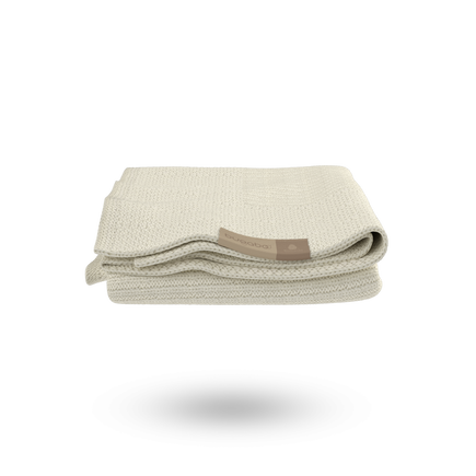 Bugaboo Soft Wool Blanket OFF WHITE MELANGE