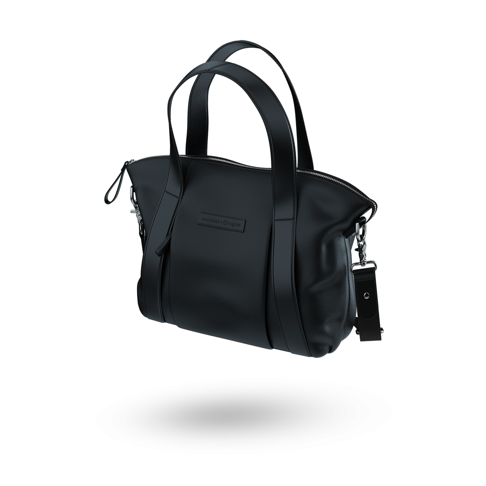 Bugaboo leather bag Black