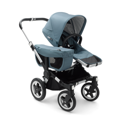 AU - Bugaboo Donkey 2 Mono Seat and bassinet pram- Track Collection, Aluminium Chassis
