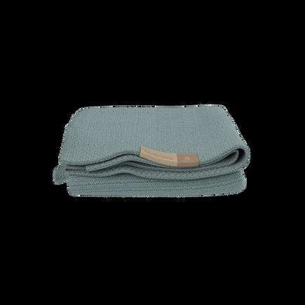 Bugaboo Soft Wool Blanket PETROL BLUE MELANGE