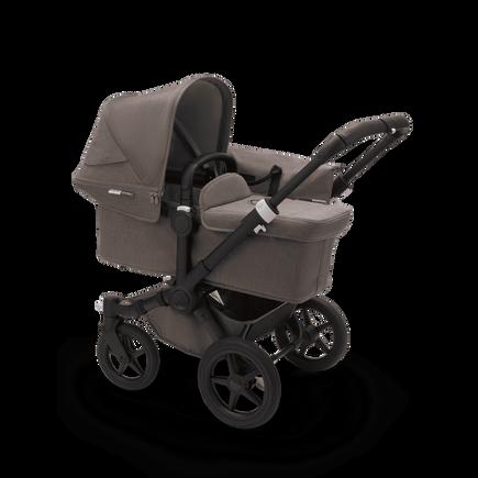 US - Bugaboo D3M stroller bundle mineral BLACK/TAUPE