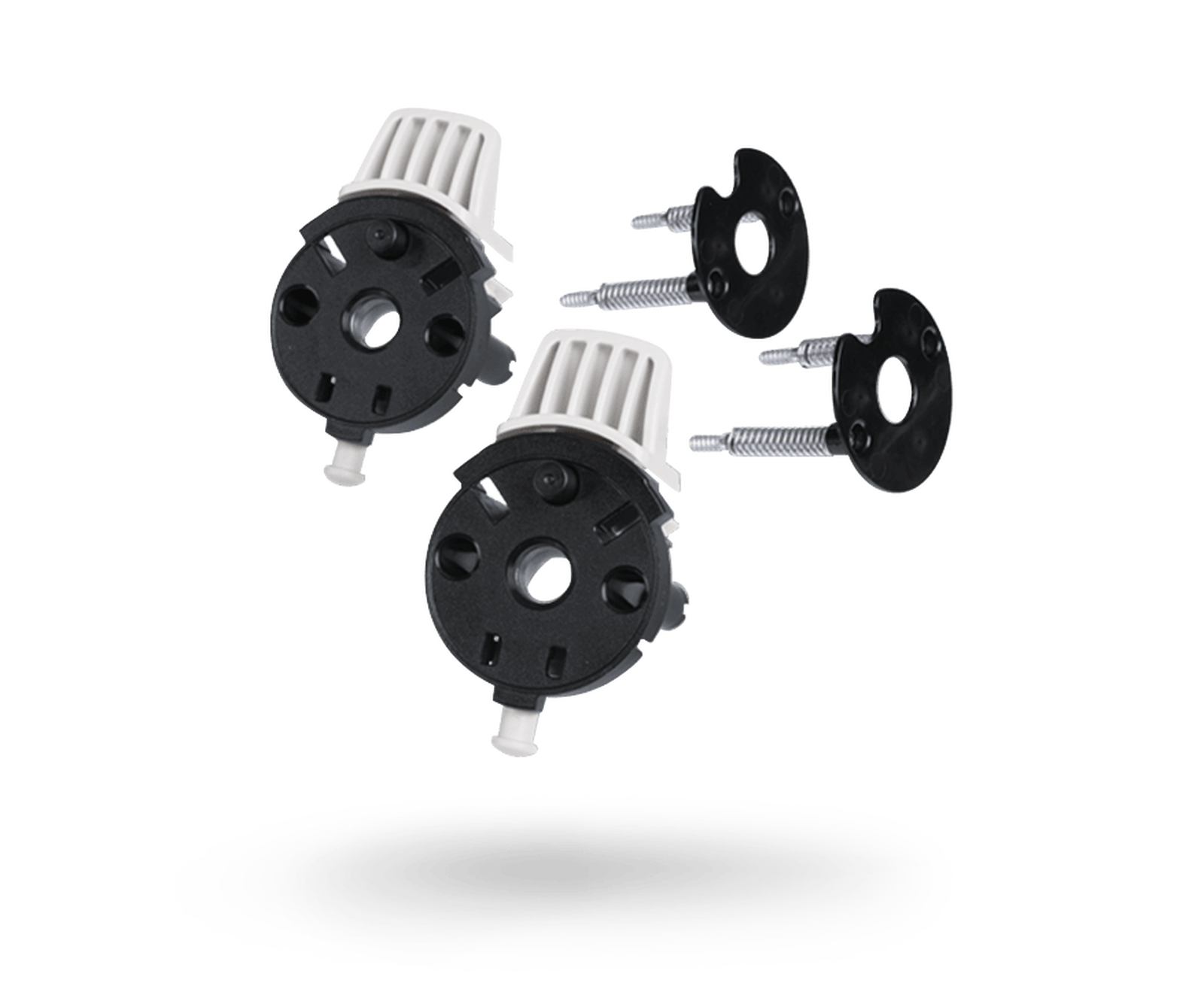 bugaboo buffalo swivel wheel locks replacement set Black