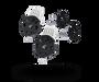 bugaboo buffalo swivel wheel locks replacement set Black