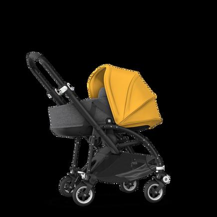 US - B5 bassinet bundle black, grey melange, sunrise yellow