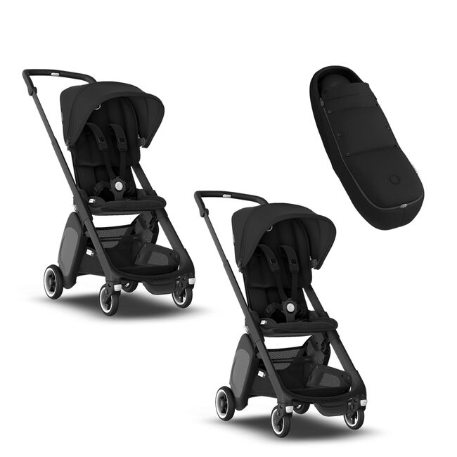 Two Bugaboo Ant strollers and Cocoon