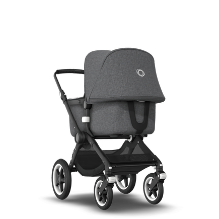 ASIA - Bugaboo Fox stroller bundle black grey melange