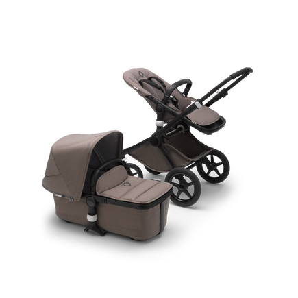 Bugaboo Fox 2 Seat and Bassinet Stroller Taupe