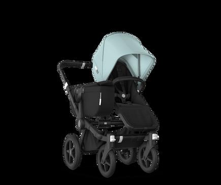 US - Bugaboo D3M stroller bundle black black vapor blue