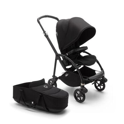 US - B6 bassinet stroller bundle black, black, black