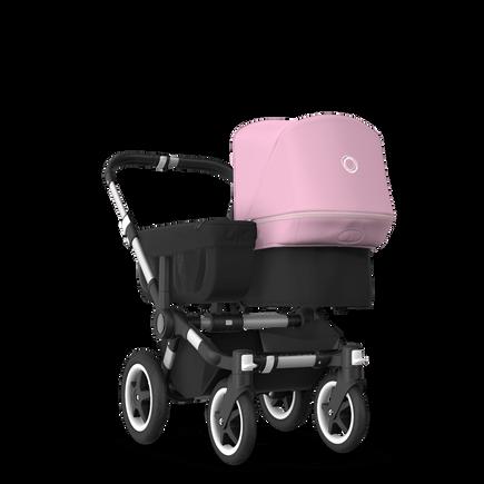 Bugaboo Donkey 2 Mono Pushchair Soft Pink Black Alu