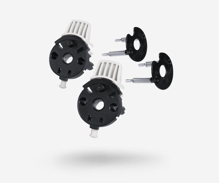 Bugaboo Buffalo swivel wheel locks replacement set