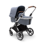Bugaboo Lynx, Lynx bassinet and Turtle One by Nuna Bundle