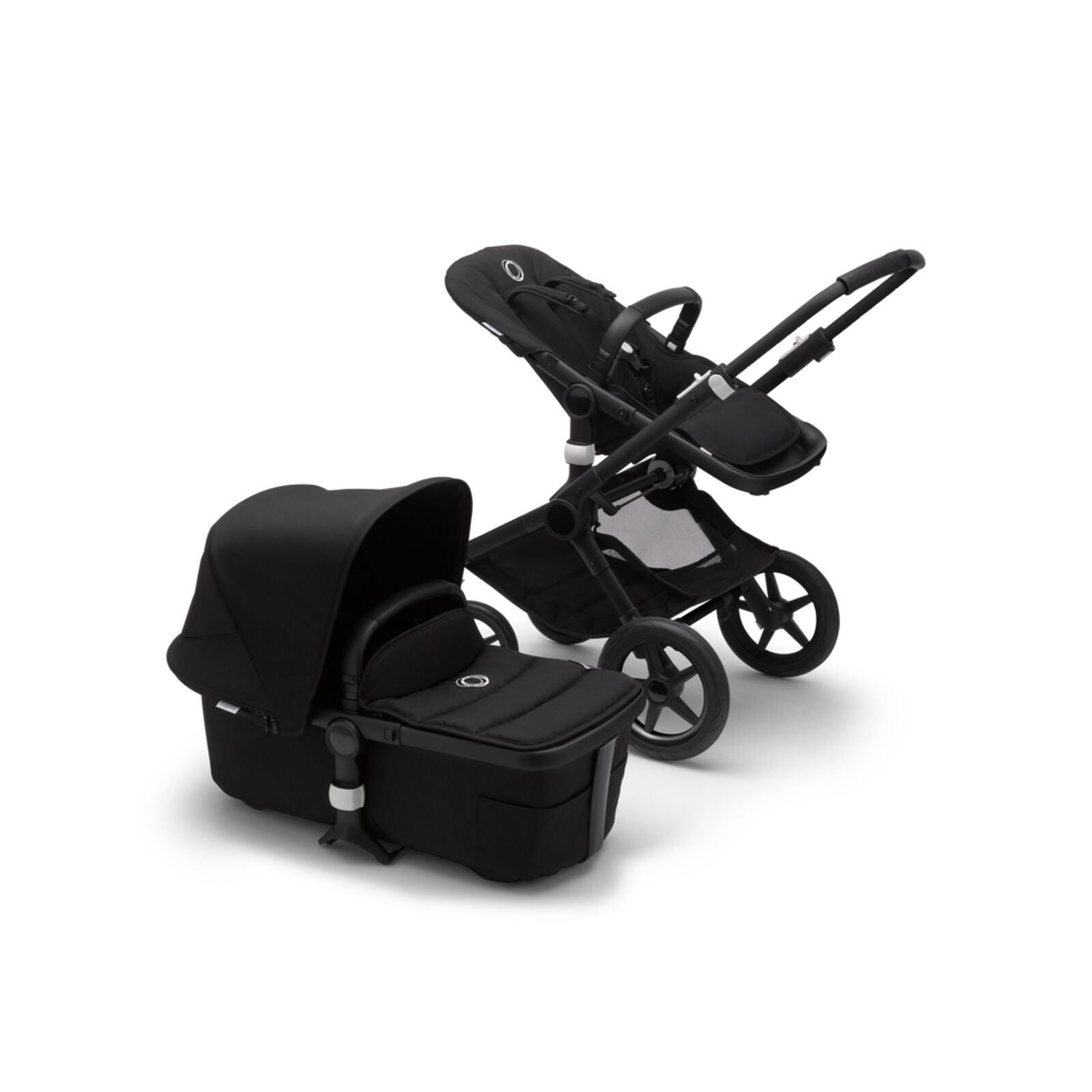 Bugaboo Fox 2 carrycot and seat pushchair