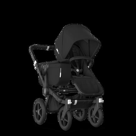 Bugaboo Donkey 3 Mono Complete black sun canopy, black seat, black chassis