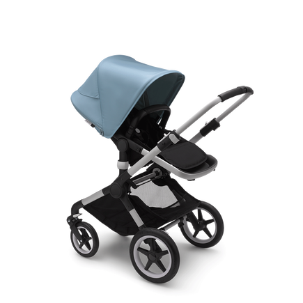 US - Bugaboo Fox2 stroller bundle aluminum black vapor blue
