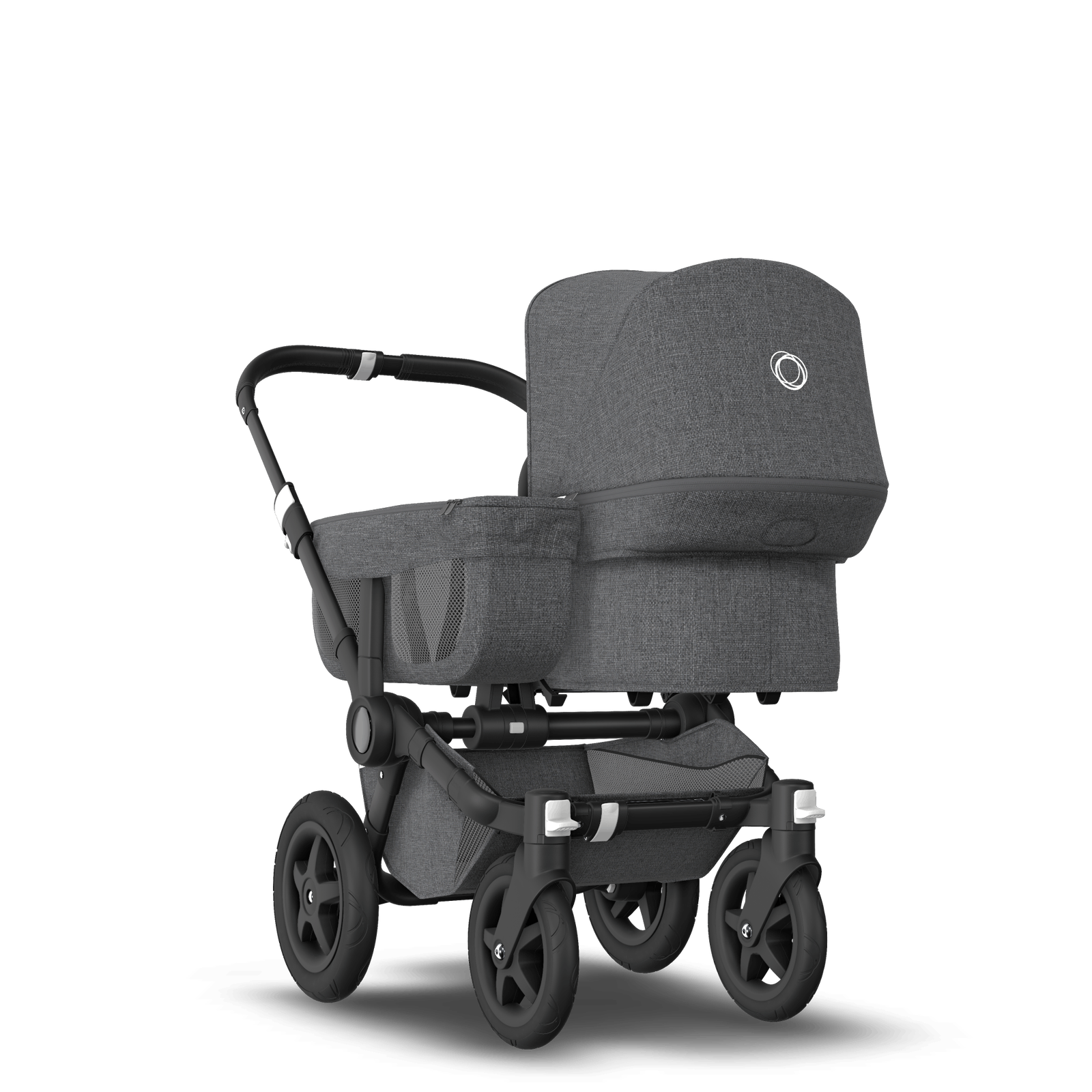 Bugaboo Donkey 2 Mono Kinderwagen met stoel en wieg
