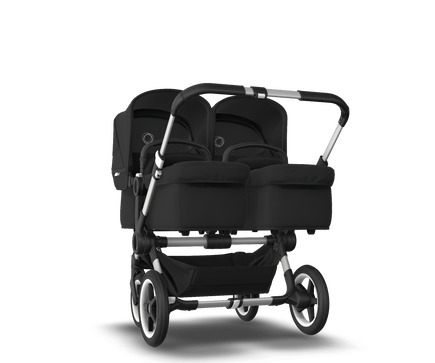 US - Bugaboo D3T stroller bundle aluminum black black