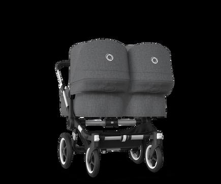US - Bugaboo D3T stroller bundle aluminum grey melange grey melange
