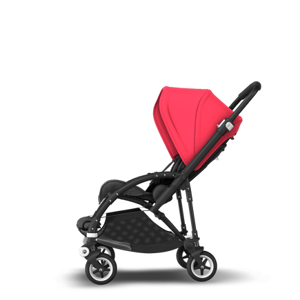 US - B5 stroller bundle black, GM, neon red