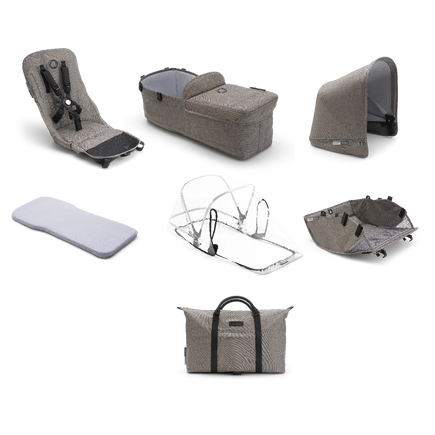 Bugaboo Donkey2 Mineral style set complete AU TAUPE