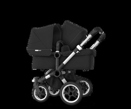 US - Bugaboo D3D stroller bundle aluminum black black