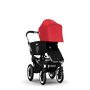 Bugaboo Donkey sun canopy RED (ext)