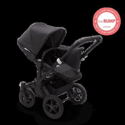 US - Bugaboo D3M stroller bundle mineral BLACK/WASHED BLACK