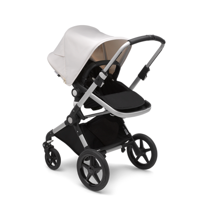 US - Lynx aluminum, black, fresh white & Bassinet & Turtle