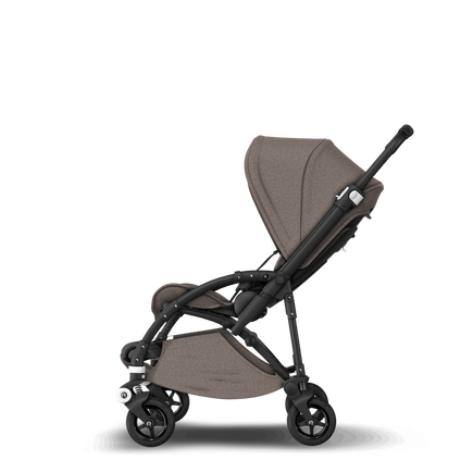 US - B5 stroller bundle black, mineral taupe