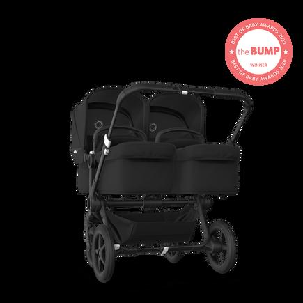 US - Bugaboo D3T stroller bundle black black black