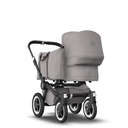 RB Bugaboo Donkey2 Mono complete BLACK/MINERAL LIGHT GREY