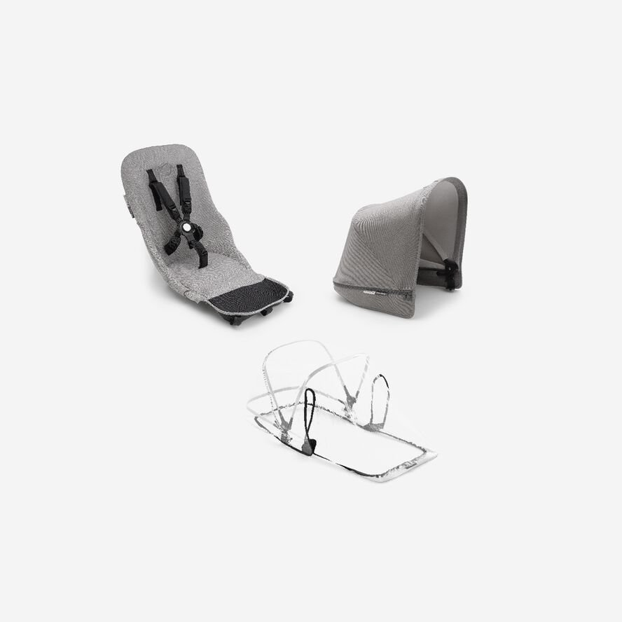 Bugaboo Donkey 2 duo fabric set complete