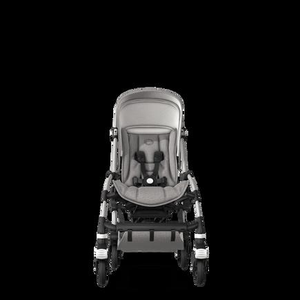 US - B5 stroller bundle aluminum, mineral light grey