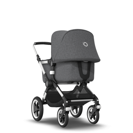 US - Bugaboo Fox stroller bundle Aluminium grey melange