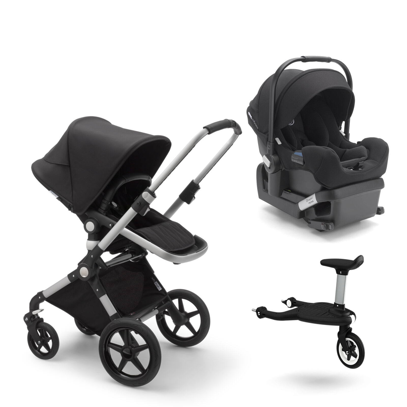 Bugaboo Lynx, Turtle by Nuna and Wheeled board
