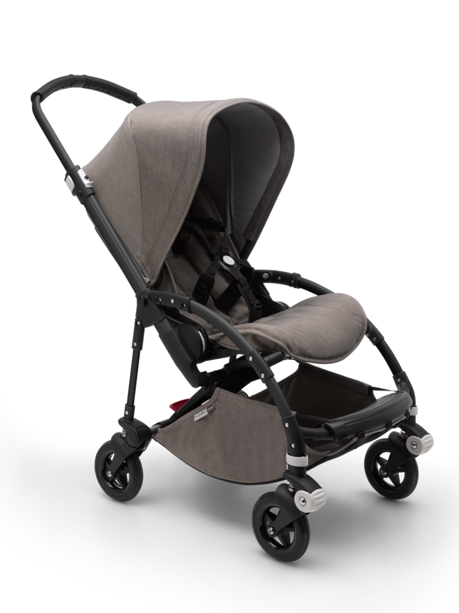 Bugaboo Bee 5 seat stroller mineral taupe mélange sun ...