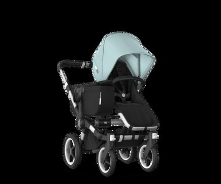 US - Bugaboo D3M stroller bundle aluminum black vapor blue