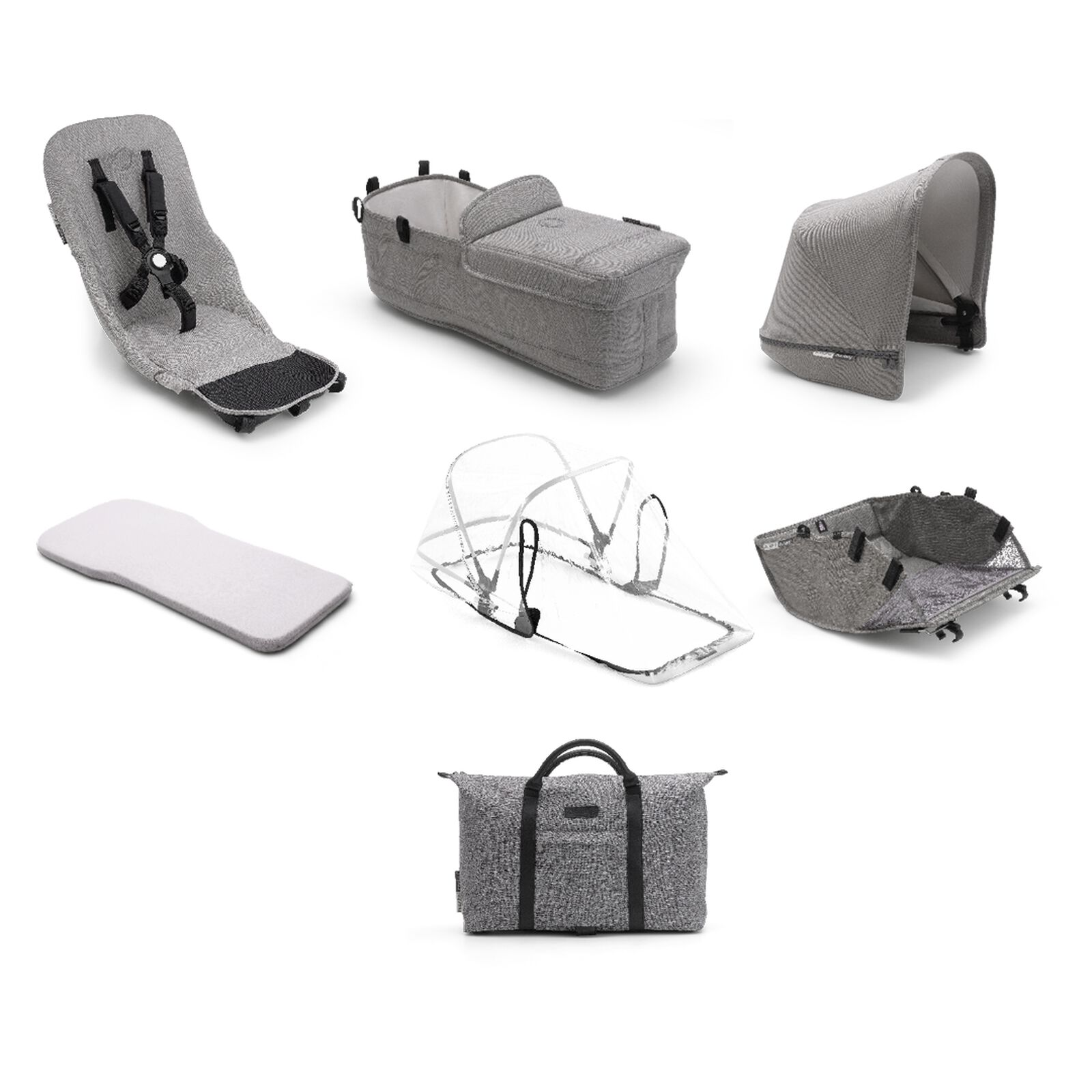 Bugaboo Donkey2 Mineral style set complete