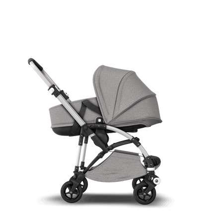AU - Bee5 pram and bassinet Mineral Grey, Alu Chasis
