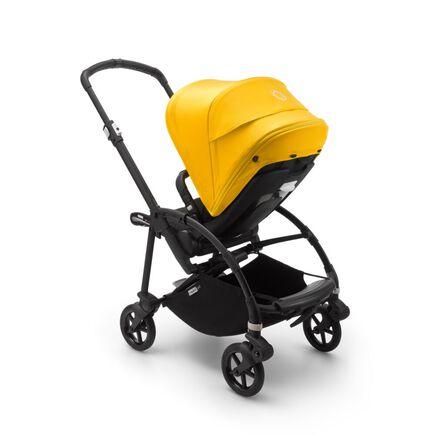 US - B6 seat stroller bundle black, black, lemon yellow