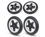 Bugaboo Donkey 2 foam wheels replacement set Black