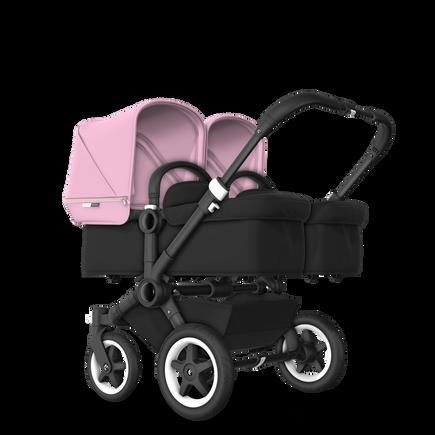 US - D2T stroller bundle black, black, soft pink