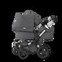EU Bugaboo Donkey 2 Duo Classic Grey Melange, Aluminium Chassis