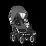 Bugaboo Donkey2 Classic bassinet fabric compl GREY MELANGE