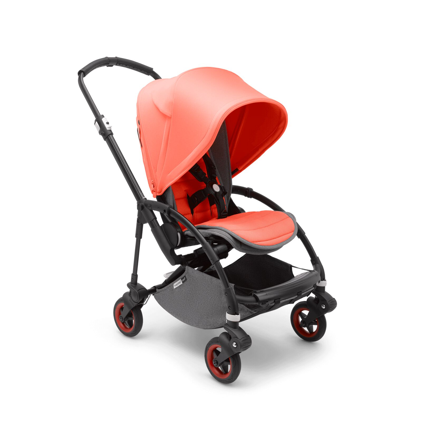 Bugaboo Bee 5 Coral Pretty Perfect seat stroller