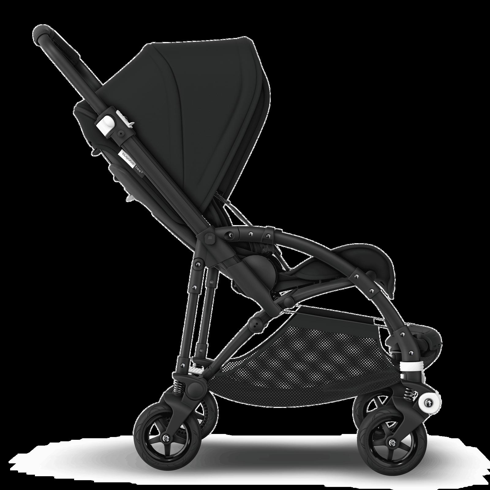 Bugaboo Bee 5 seat stroller Black sun canopy, black ...